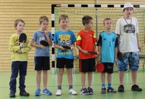 die Tischtennis AG stellt sich vor...